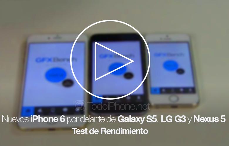 Новый iPhone 6 впереди Galaxy S5, LG G3 и Nexus 5 в тесте производительности 1