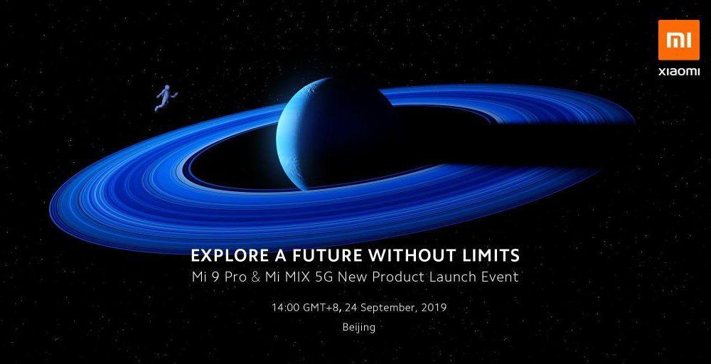 Объявлена дата запуска смартфона Mi 9 Pro & Mi Mix 4 5G
