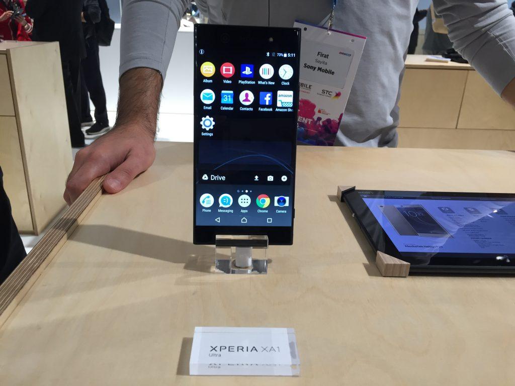 Первые впечатления Sony Xperia XA1 и XA1 Ultra # MWC17