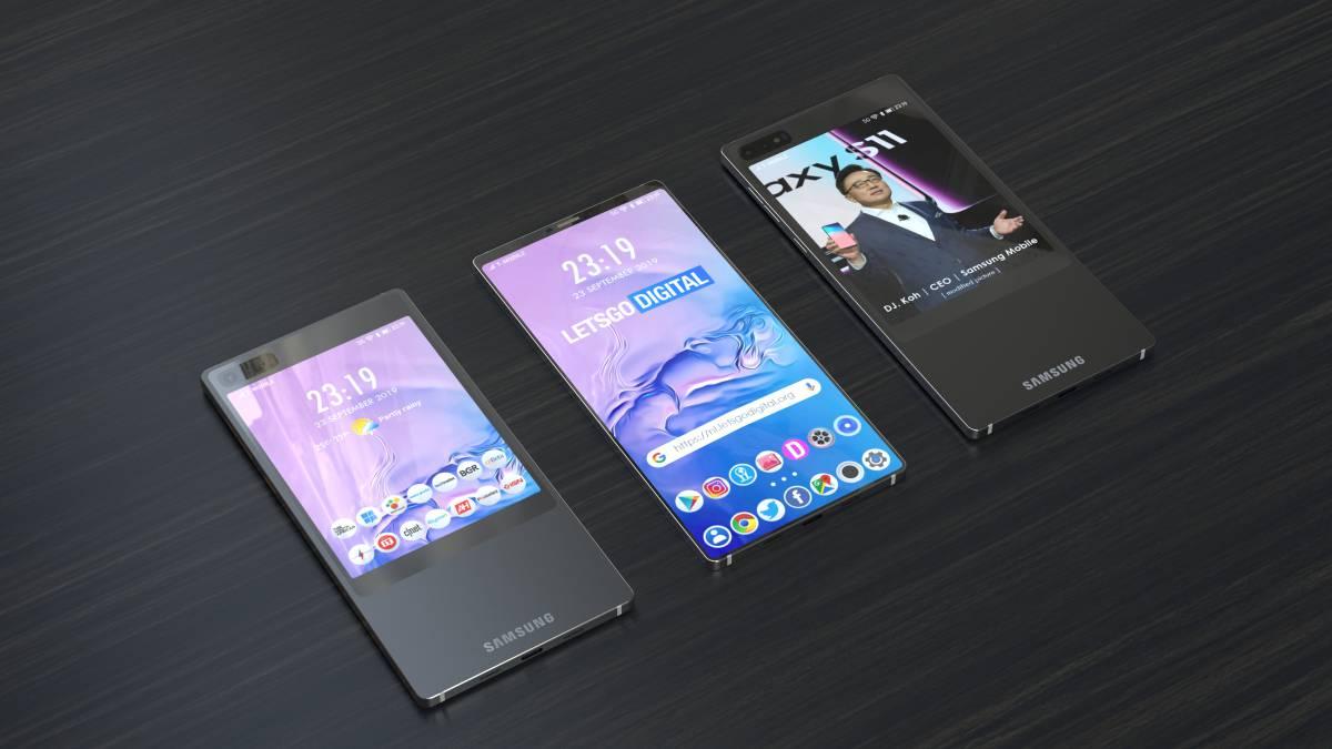 Первые слухи Samsung Galaxy S11: двойной экран