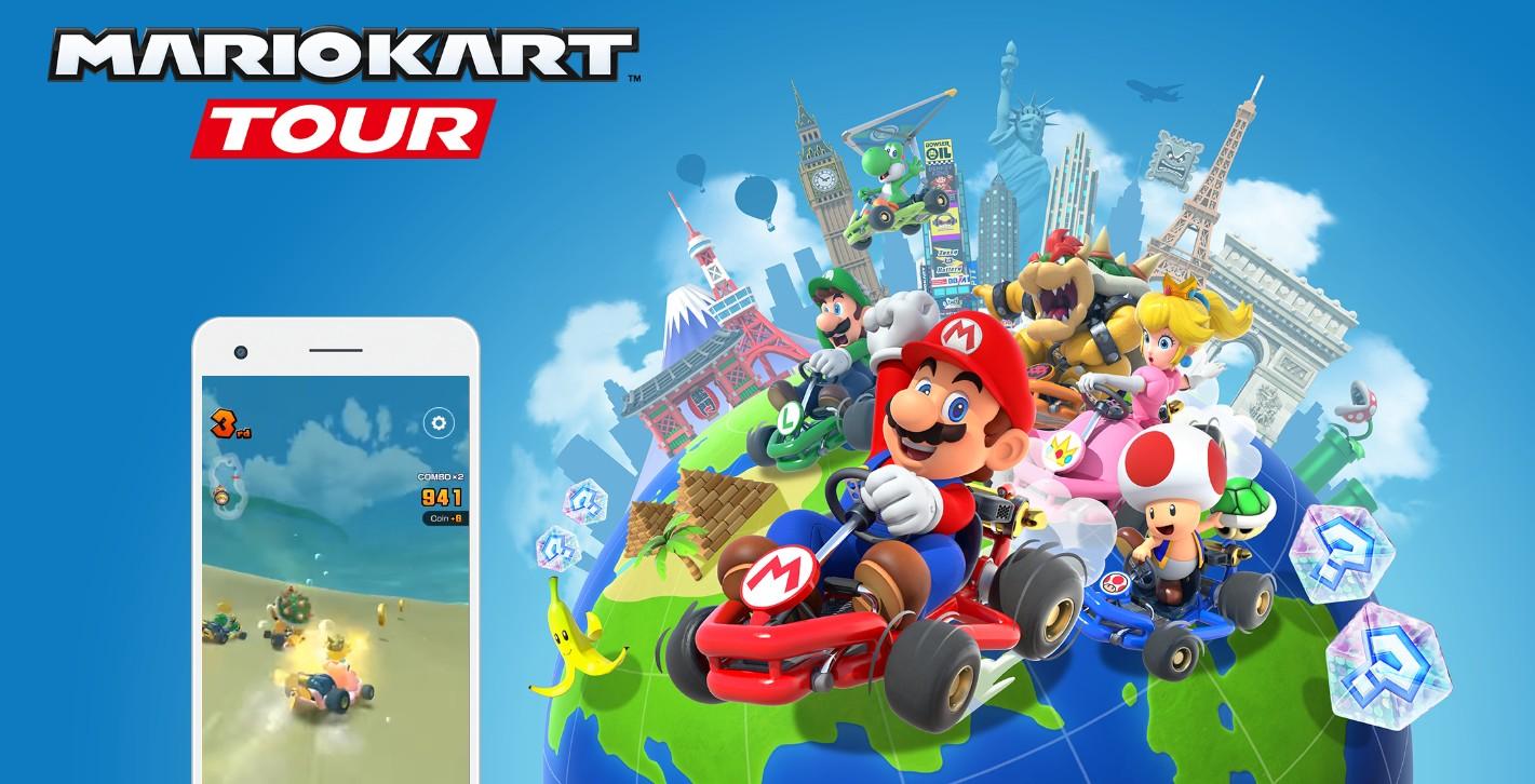 Прибытие Mario Kart Tour для smartphones Android и iOS серверы рушатся