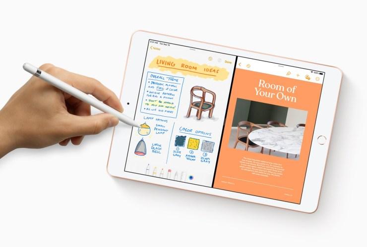 Apple  iPad 7 с Apple Карандаш