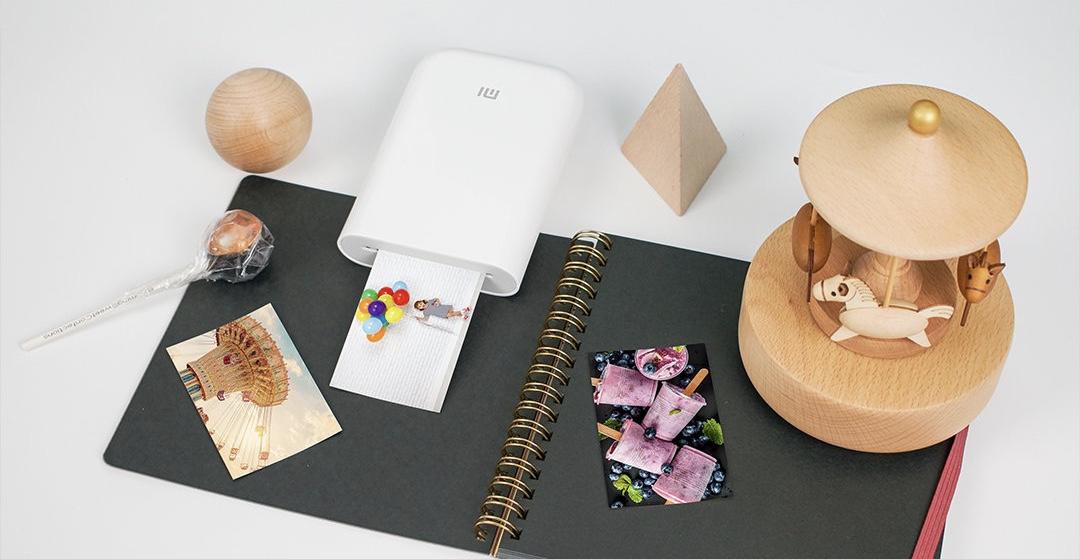 Теперь вы можете купить новый компактный принтер Xiaomi с дополненной реальностью на AliExpress
