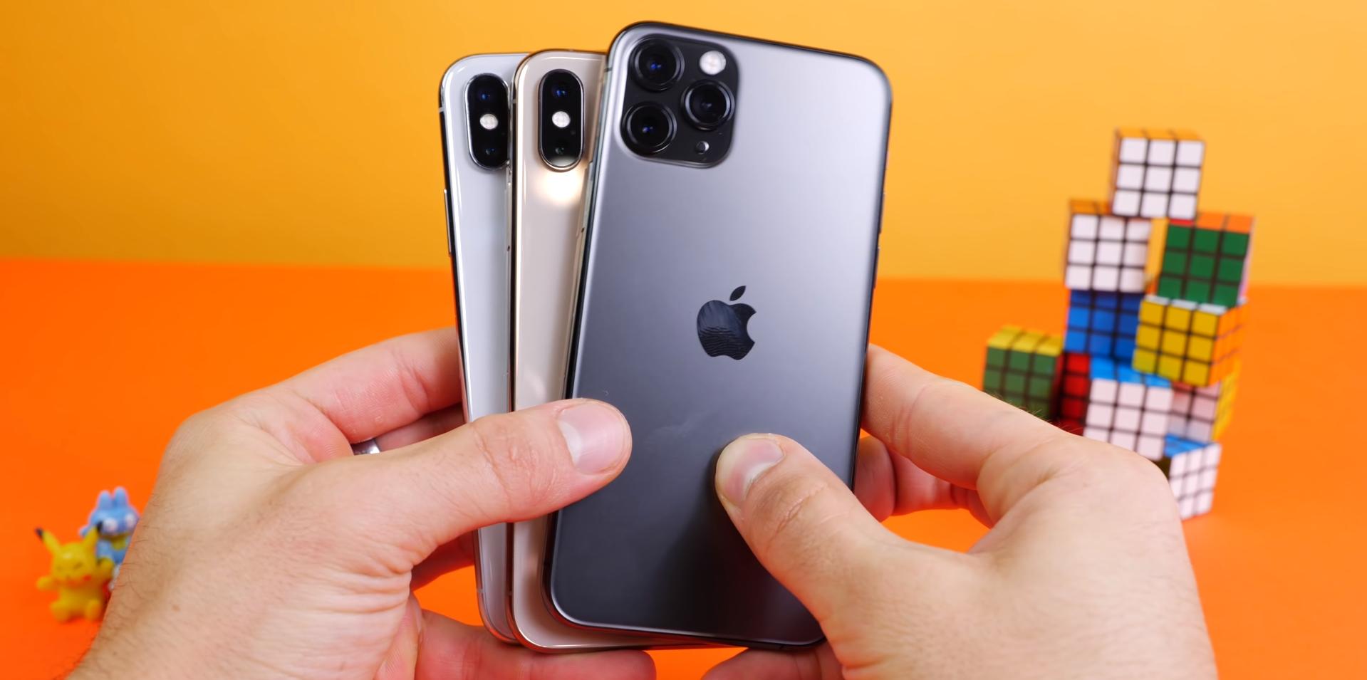 Тест скорости iPhone 11 Pro показывает, что телефон работает медленнее, чем iPhone XS