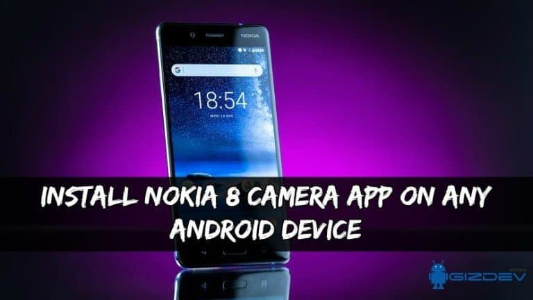 Установите приложение Nokia 8 Camera на любое устройство Android