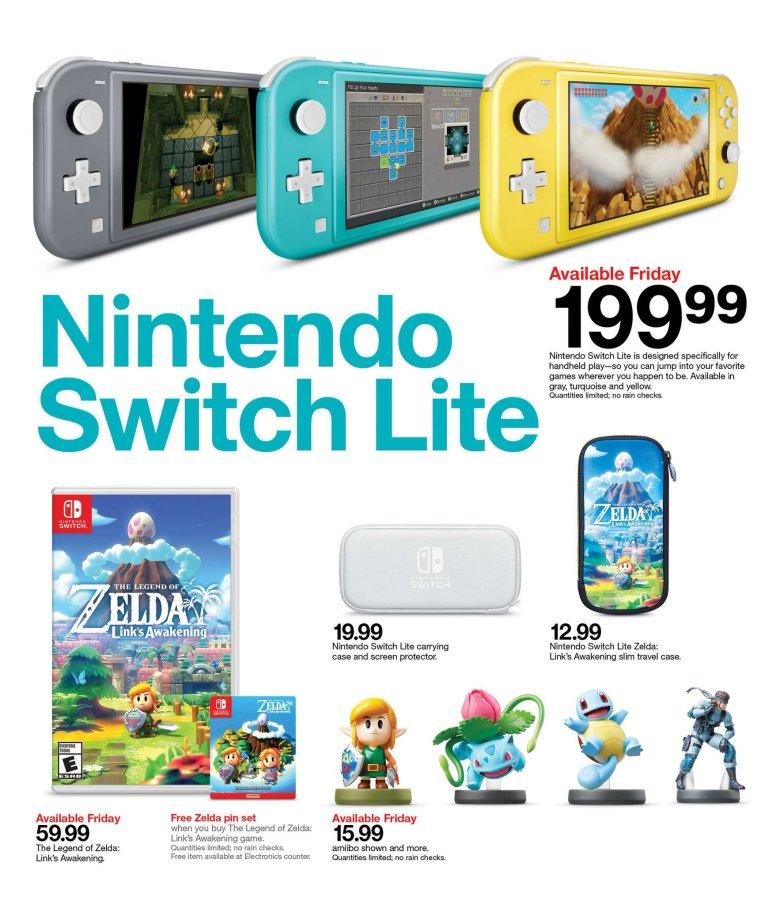 Цель: бесплатный набор Zelda с функцией Link's Awakening на следующей неделе 1
