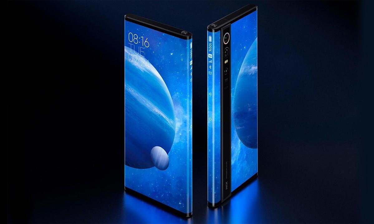 Экран смартфона Alpha Xiaomi Mi Mix представлен практически на всех экранах: посмотрите здесь