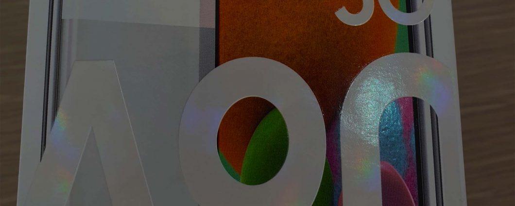 Galaxy A90 5G: упаковка раскрывает ключевые характеристики