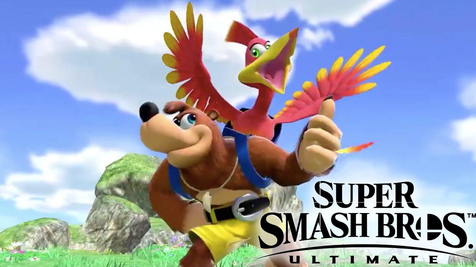 Отфильтрованная дата выпуска нового Smash Bros. от Ultimate Characters Banjo-Kazooie