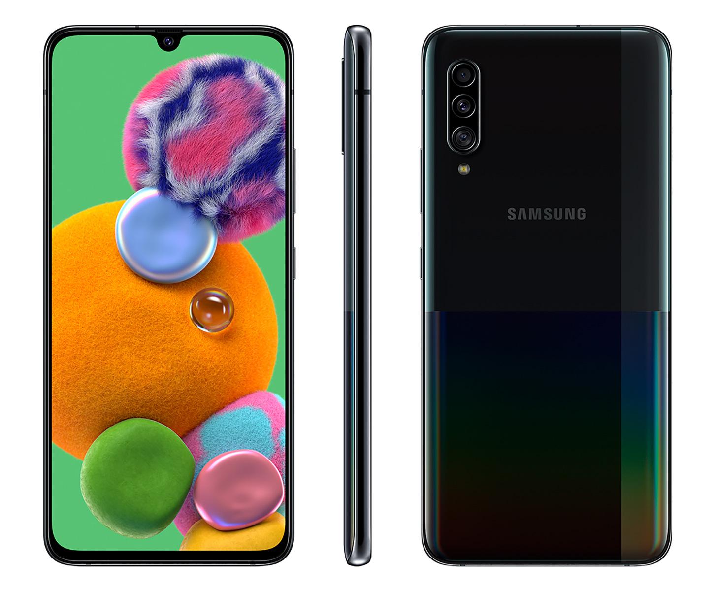 Samsung Galaxy Официальный A90 5G с Snapdragon 855 и батареей 4500mAh