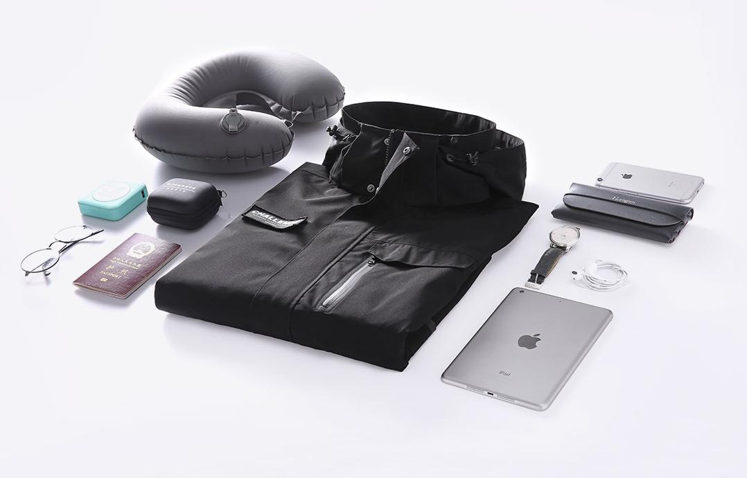 Xiaomi выпускает новую дорожную куртку, в которой вы можете безопасно хранить все свои гаджеты