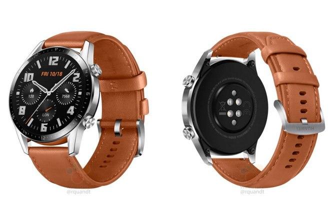 Huawei Watch GT 2 скоро выйдет с большей батареей, микрофоном и динамиком 1