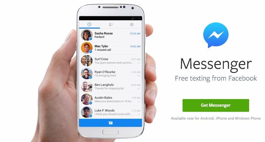Сейчас Facebook тот, кто шпионил за голосовыми звонками Messenger