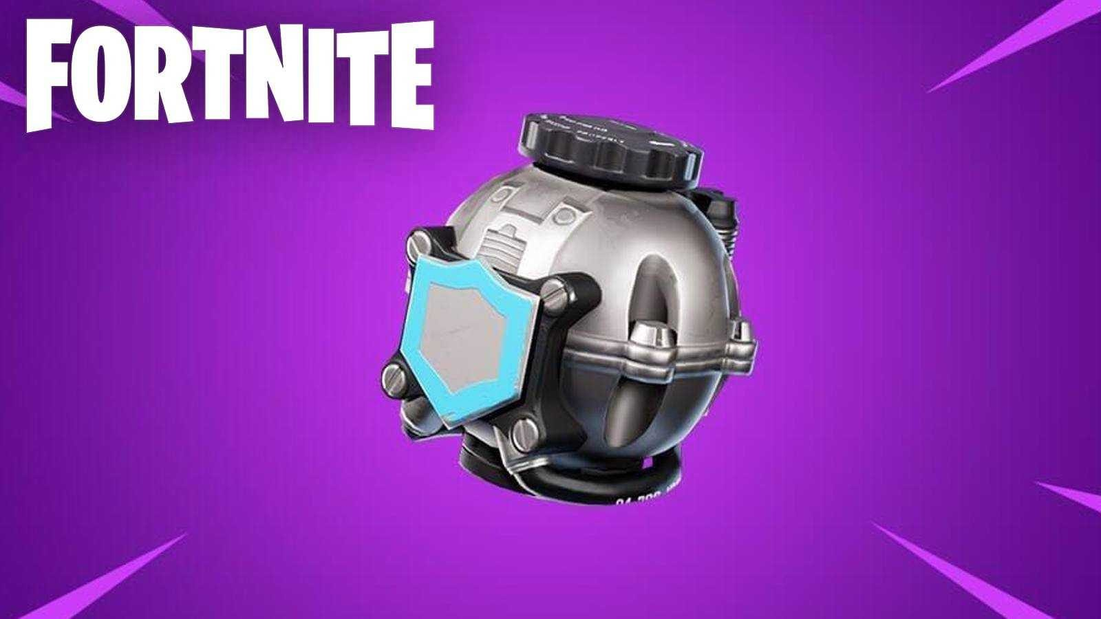 """Как использовать щит """"Shield Bubble"""" при движении в Fortnite"""