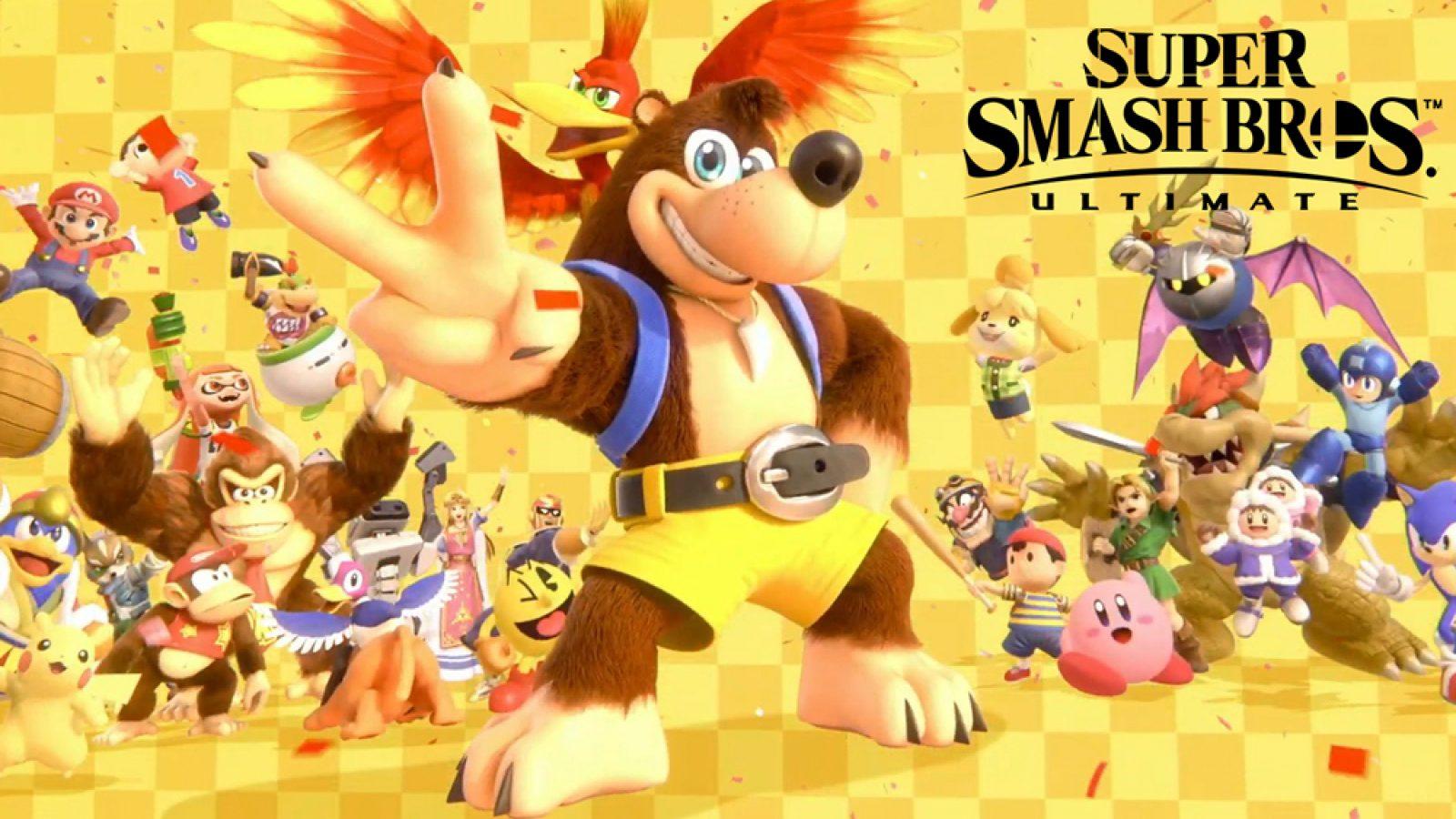 Обновление патча 5.0.0. для Super Smash Bros. Ultimate