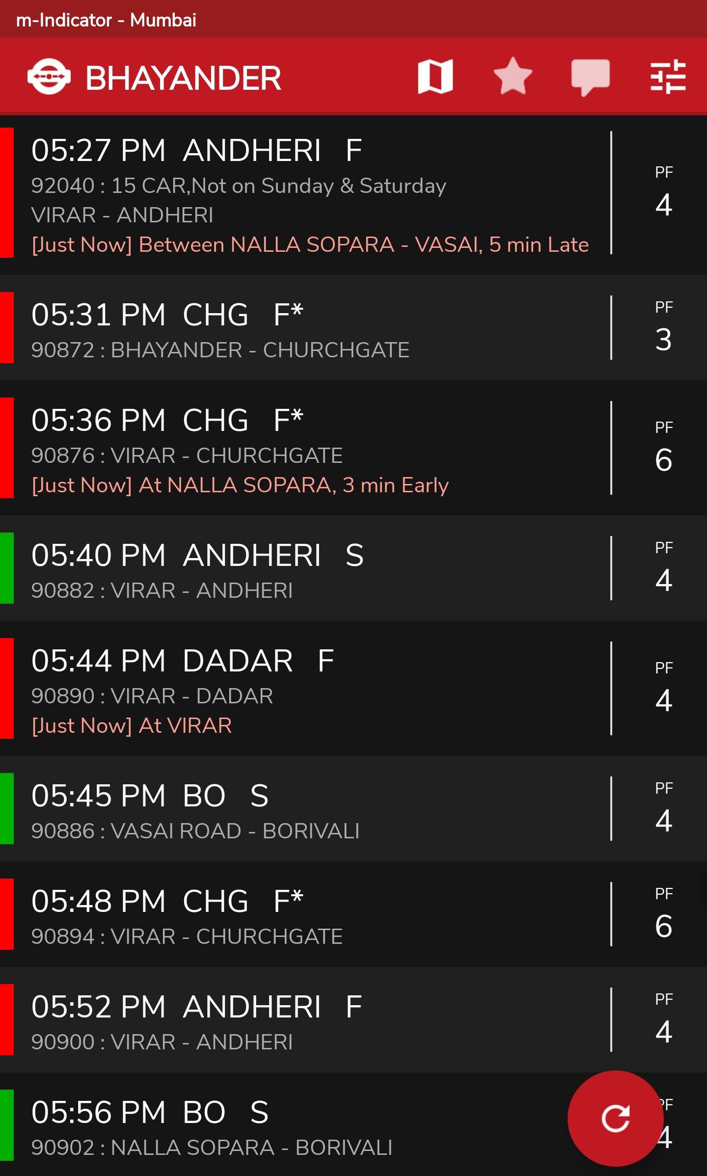 Как в прямом эфире отслеживать пригородные поезда Мумбаи, используя m-Indicator 2