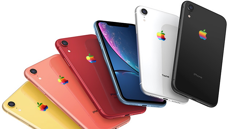 Концепции MacRumors iPhone яблочная радуга