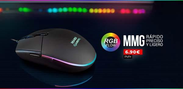 Nuevo ratón MMG de Mars Gaming