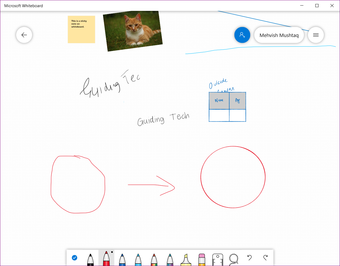 Microsoft Whiteboard Советы Советы 13