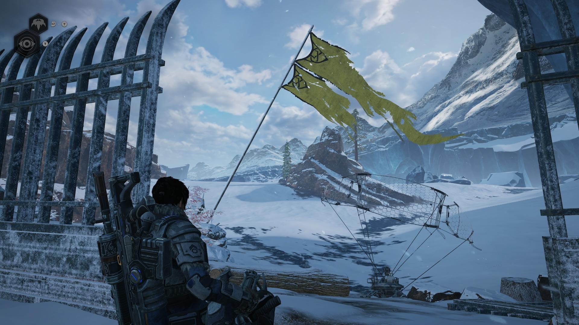 Наконец, чрезвычайно выдающаяся игра под флагом Microsoft. Gears 5 прекрасно экспериментирует с формой - обзор 1