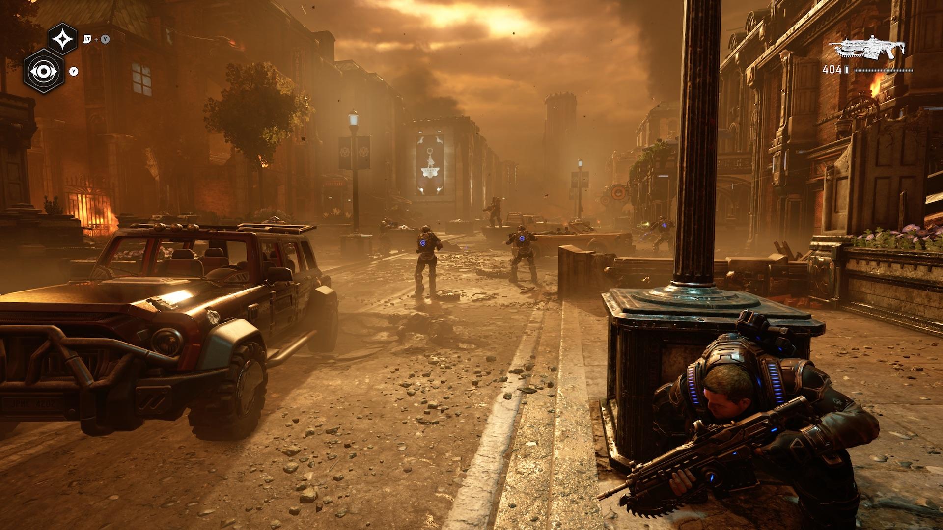 Наконец, чрезвычайно выдающаяся игра под флагом Microsoft. Gears 5 прекрасно экспериментирует с формой - обзор 3