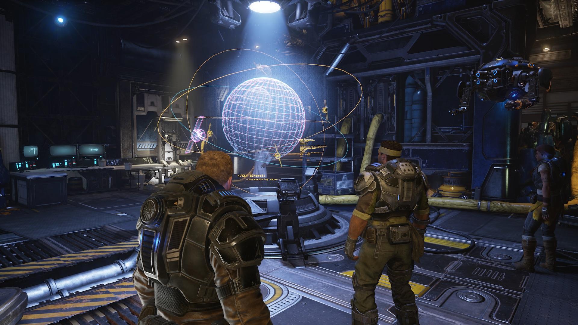 Наконец, чрезвычайно выдающаяся игра под флагом Microsoft. Gears 5 прекрасно экспериментирует с формой - обзор 4
