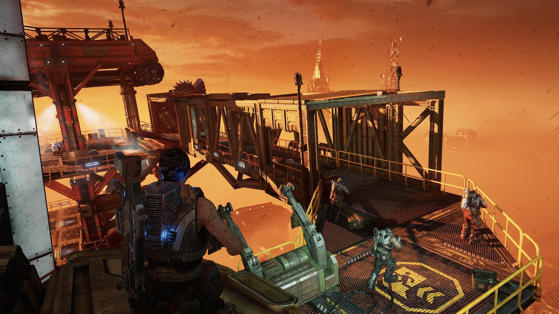Наконец, чрезвычайно выдающаяся игра под флагом Microsoft. Gears 5 прекрасно экспериментирует с формой - обзор 5