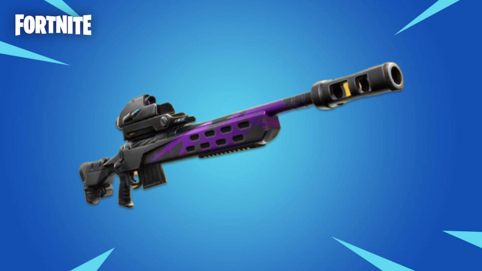 Fortnite Снайперская винтовка Storm Scout прибудет очень скоро