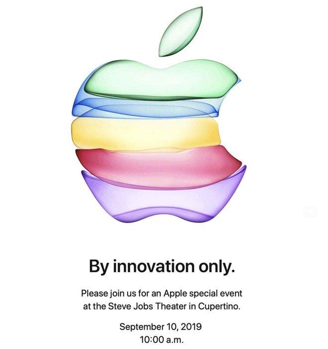Apple  Специальное мероприятие «Только инновациями»