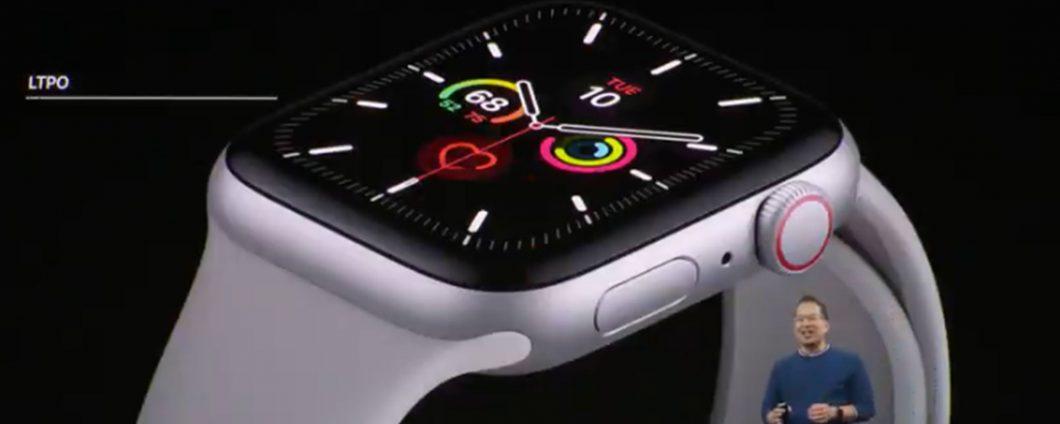 Apple Watch Серия 5 официальная: все детали