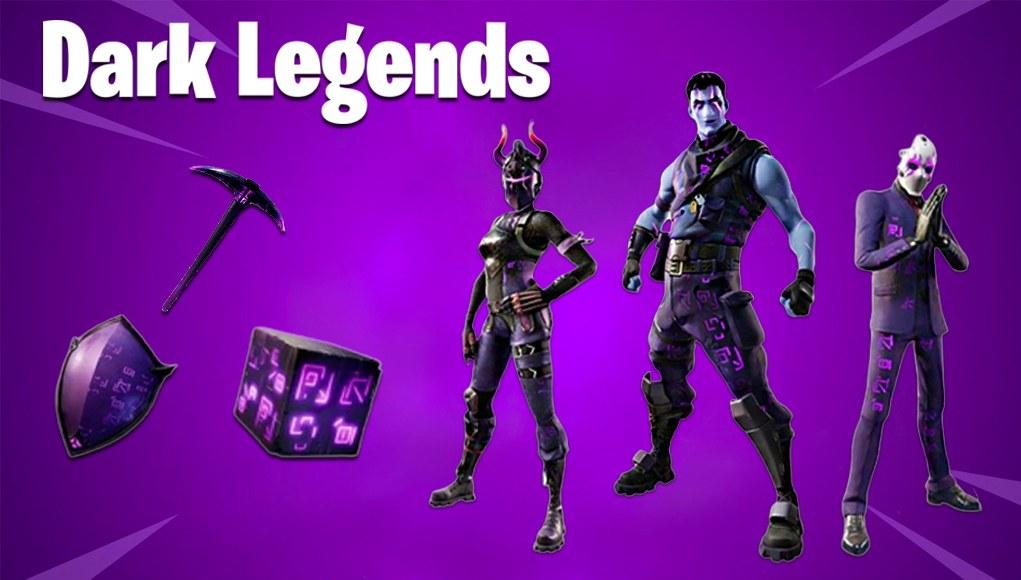 """Новая косметическая упаковка """"Dark Legends"""" от Fortnite было подтверждено"""