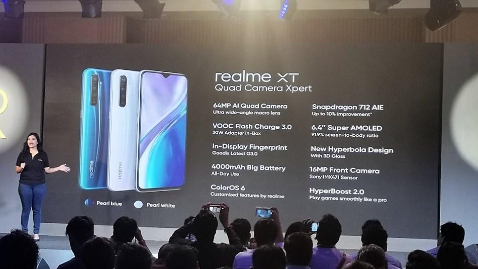 Realme XT с 64-мегапиксельной камерой Quad выпущен в Индии: характеристики, цена и доступность
