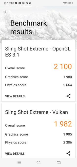Vivo  Z1x 3D Mark