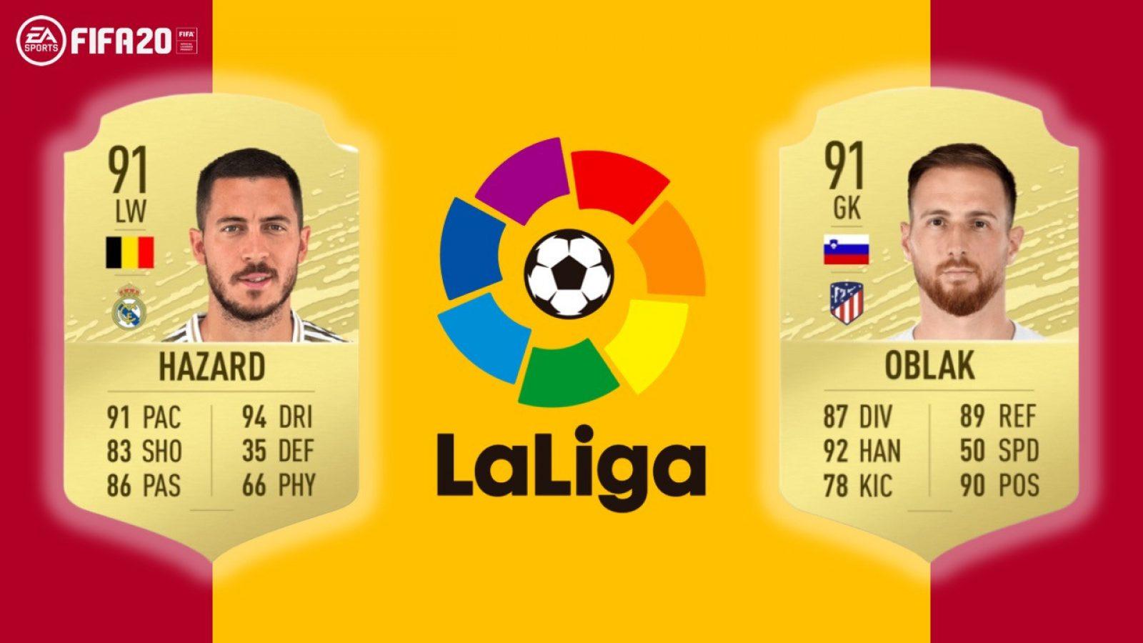 FIFA 20 La Liga показывает лучшие результаты игрока - Fortnite вентиляторы