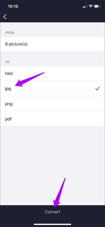 Iphone конвертировать Heic в Jpg 12