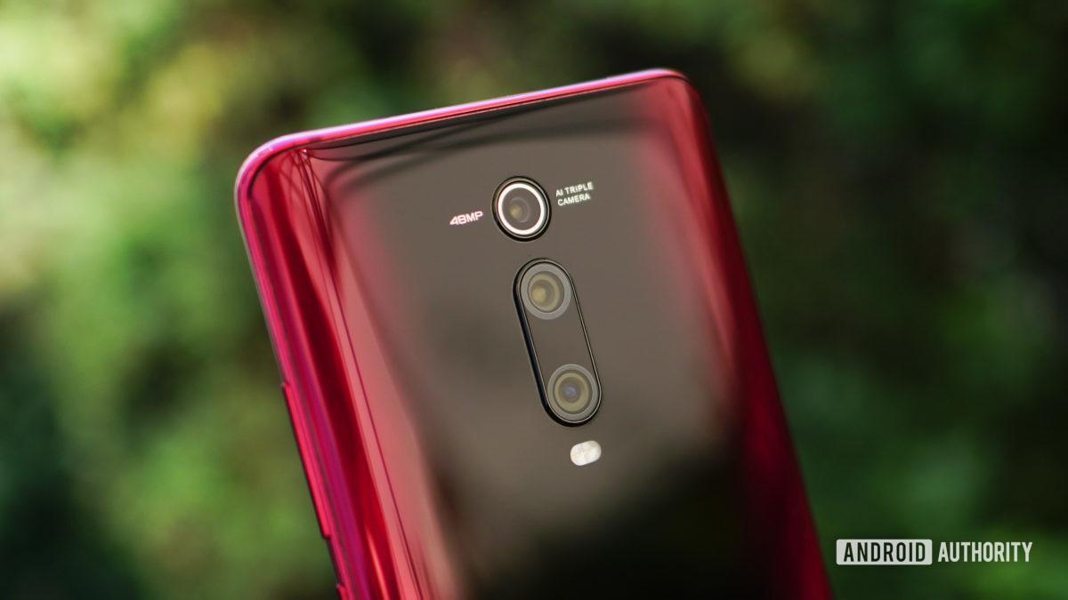 Xiaomi Mi 9T Pro красная задняя камера деталь 2