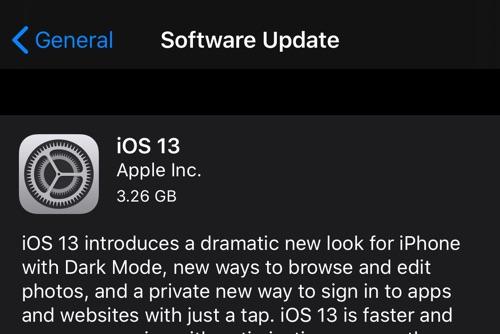 Как установить iOS 13 Final и избежать iOS 13.1 Beta