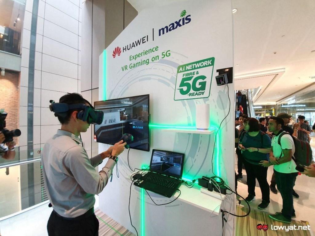 Экспериментальная зона Huawei 5G теперь открыта для общественности: работает от Maxis, со скоростью до 1,3 Гбит / с 1