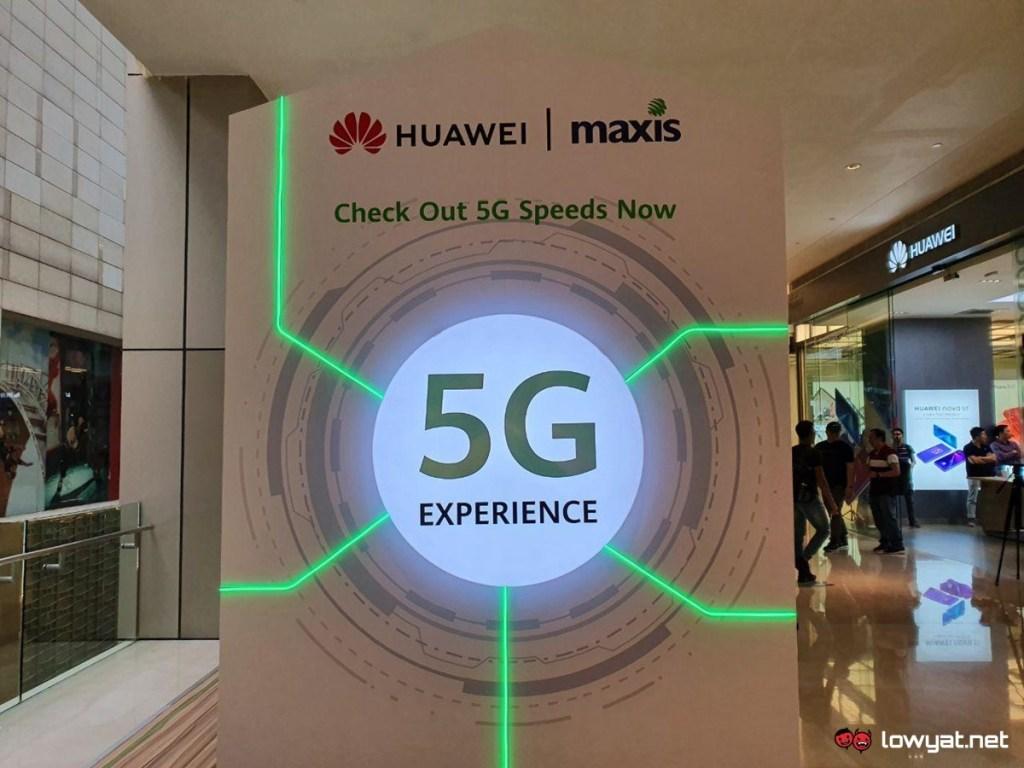 Экспериментальная зона Huawei 5G теперь открыта для общественности: работает от Maxis, со скоростью до 1,3 Гбит / с 2