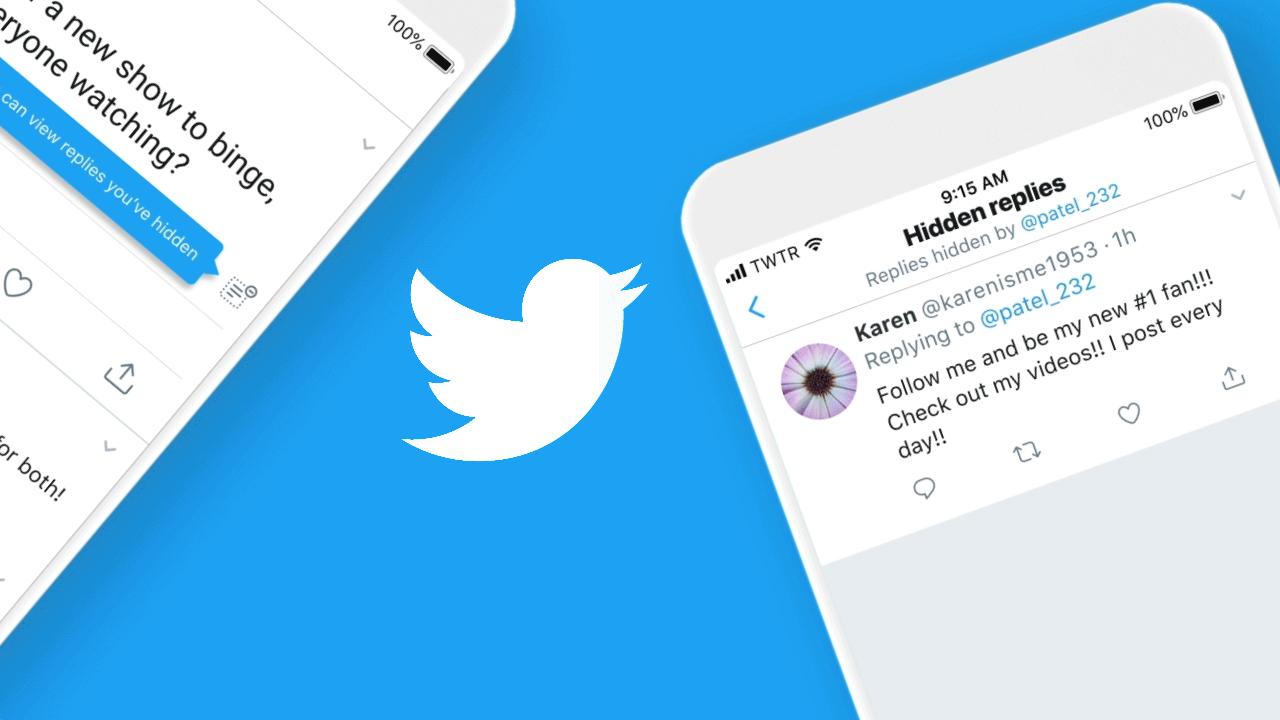 Twitter позволяет пользователям из США скрывать ответы в своих темах