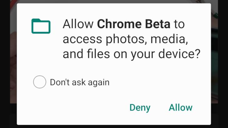 Chrome Beta 78 позволяет сайтам редактировать локальные файлы, читать текстовые сообщения проверки SMS и многое другое
