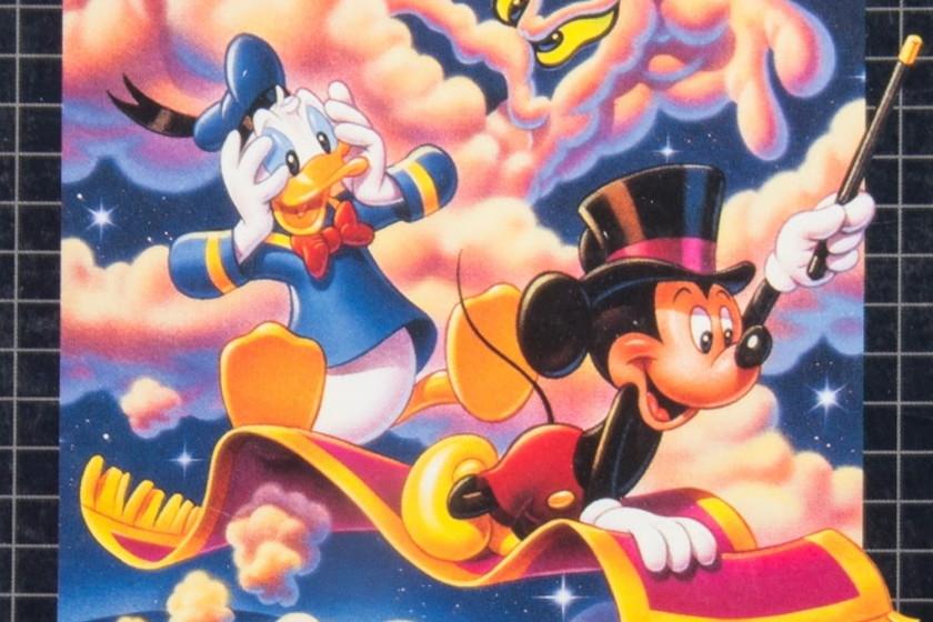 World of Illusion, незабываемое совместное приключение Микки Мауса и Дональда Дака для Mega Drive