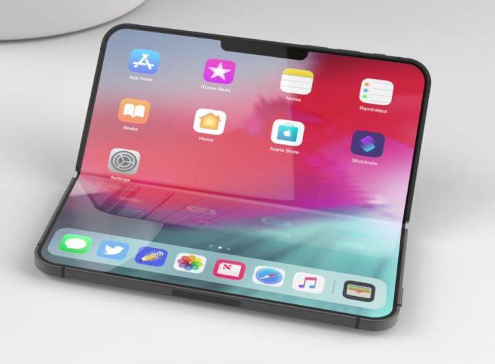 Является Apple работаешь над складным дизайном для следующего iPhone?