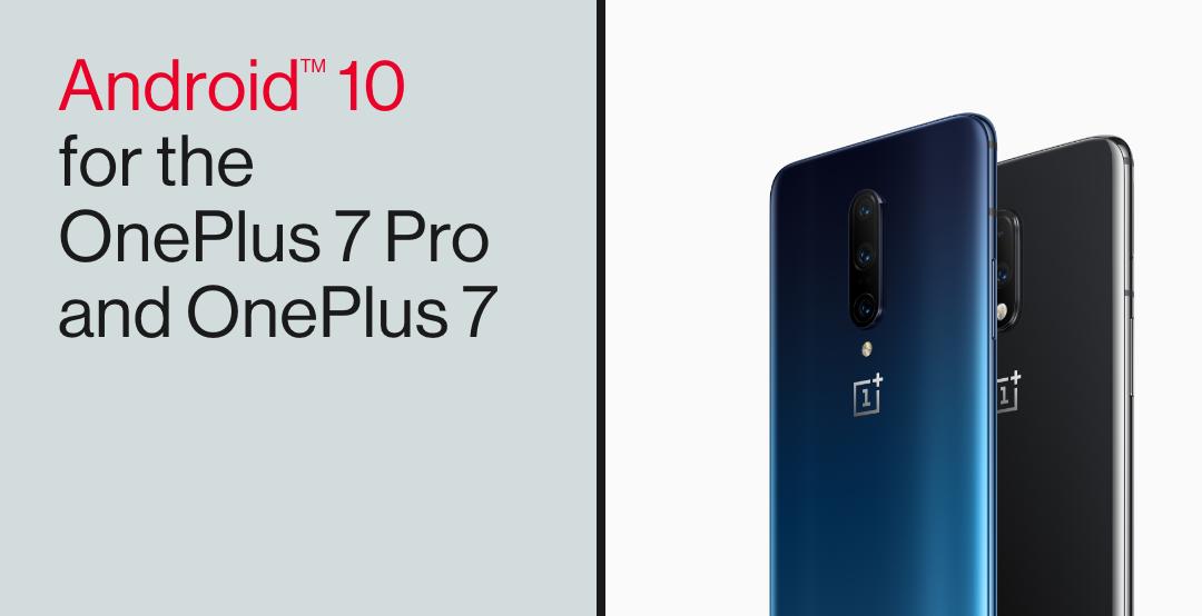 Android 10 выкатывается для OnePlus 7 и 7 Pro