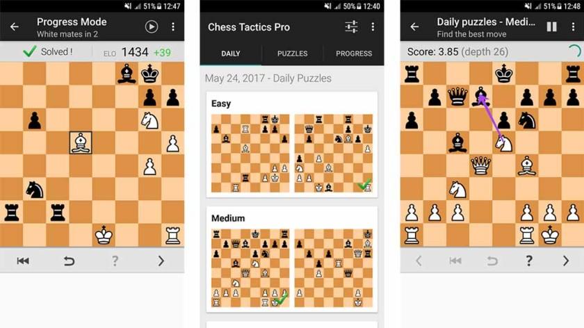 أفضل 10 ألعاب شطرنج للأندرويد!
