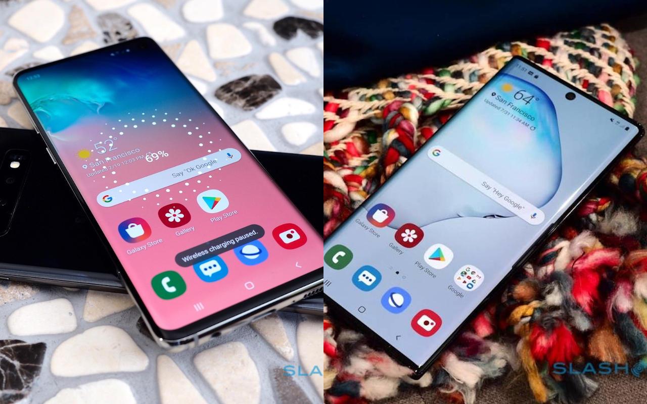 Galaxy S и Galaxy Note  слияние теперь имеет больше смысла