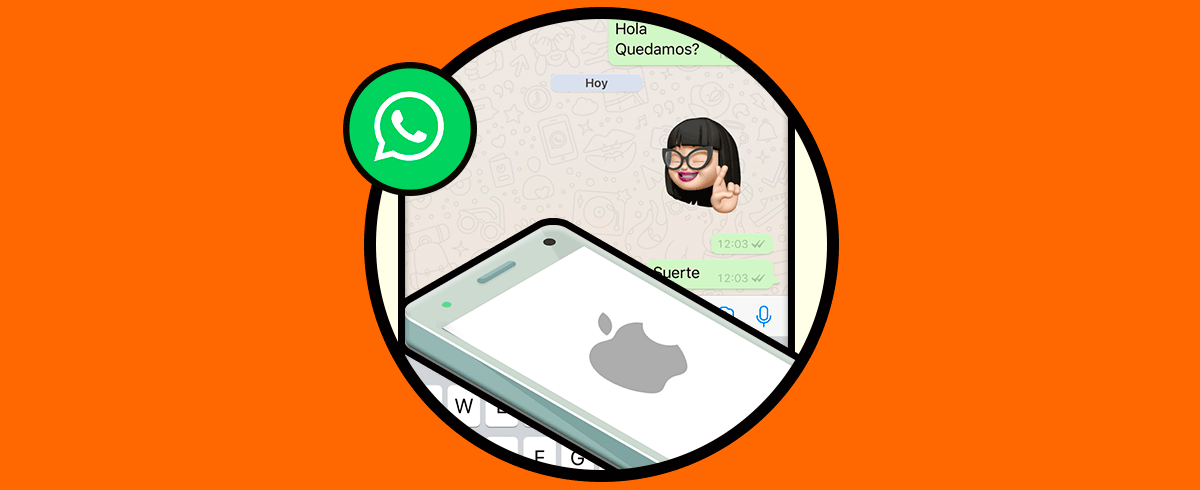 Как сделать стикеры с Memoji WhatsApp iOS 13