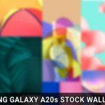 Скачать Samsung Galaxy A20s Обои
