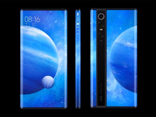 Xiaomi Mi MIX Alpha: китайская фирма заново изобретает изогнутые экраны