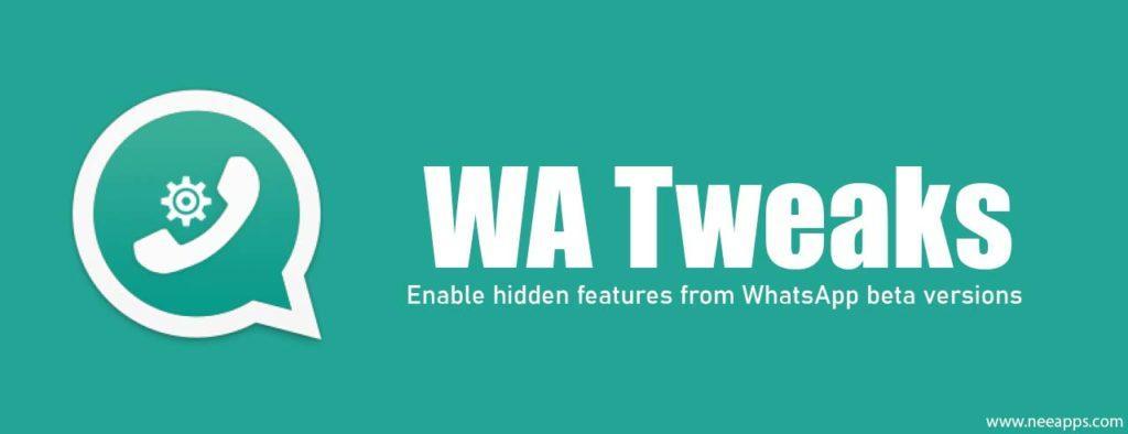 WA Tweaker WhatsApp MOD Скачать APK 1.4.8 [2019]
